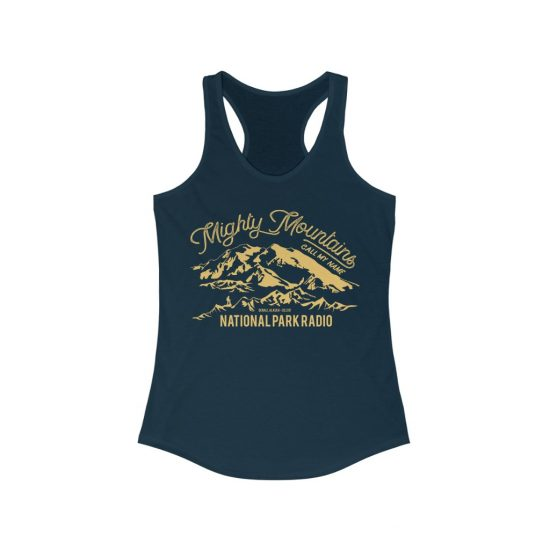 Mighty Mountains Racerback Tank