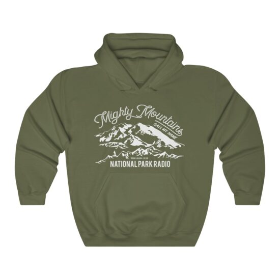 Mighty Mountains Hoodie