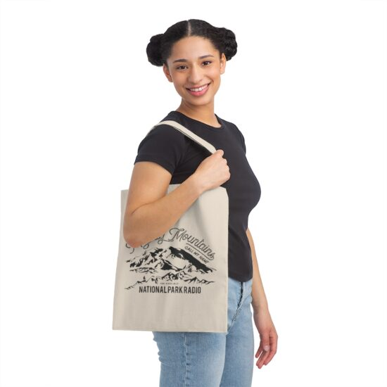 Mighty Mountains Canvas Tote Bag